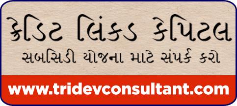 Credit linked Capital Subsidy in Ahmedabad, Mehsana, Kalol, Vadodara